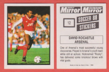 Arsenal David Rocastle England